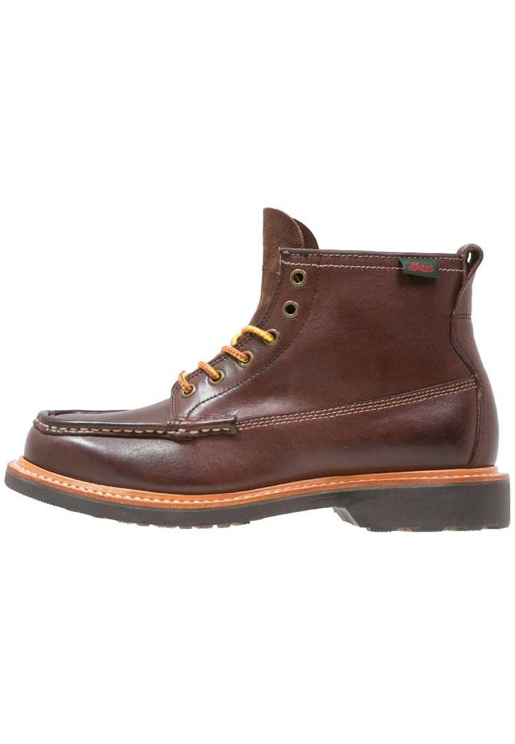 ¡Consigue este tipo de botas con cordones de G. H. Bass & Co. ahora! Haz clic para ver los detalles. Envíos gratis a toda España. G. H. Bass & Co. QUAIL HUNTER Botines con cordones brown: G. H. Bass & Co. QUAIL HUNTER Botines con cordones brown Zapatos   | Material exterior: piel, Material interior: piel, Suela: fibra sintética, Plantilla: cuero | Zapatos ¡Haz tu pedido   y disfruta de gastos de enví-o gratuitos! (botas con cordones, laces, laceup, stiefeln zum schüren, botas con aguje...