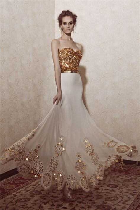 white and gold glamour gown /prom-dresses-uk63_1