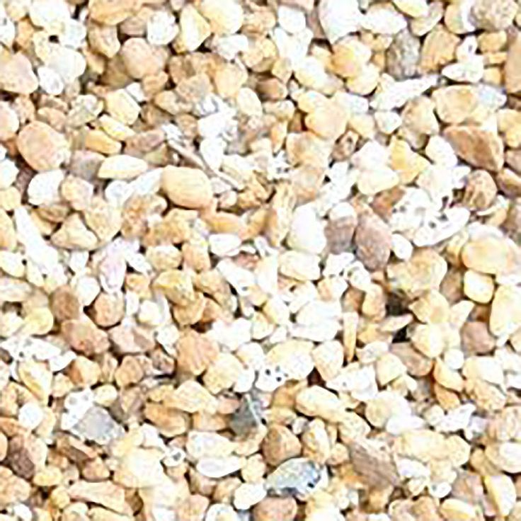 """Amazon.com : Safe & Non-Toxic (Small Size, 0.12"""" to 0.25"""" Inch) 2 Pound Bag of """"Acrylic Coated"""" Gravel & Pebbles Decor for Freshwater & Saltwater Aquarium w/ Beachy Mediterranean Style [Tan, Gray & Light Brown] : Pet Supplies"""
