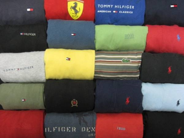◆古着卸◆人気ブランド=ワンポイントTシャツMIX24枚セット★★L_画像1