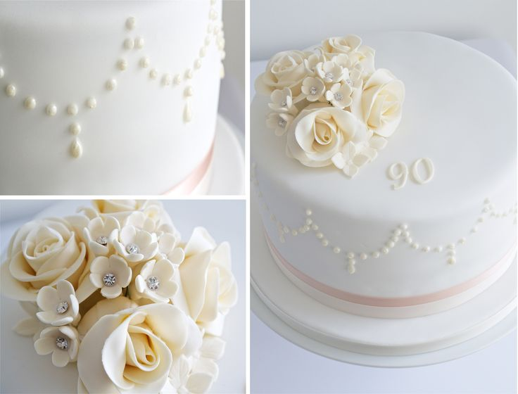 90th Birthday Cake - 90th Birthday Cake