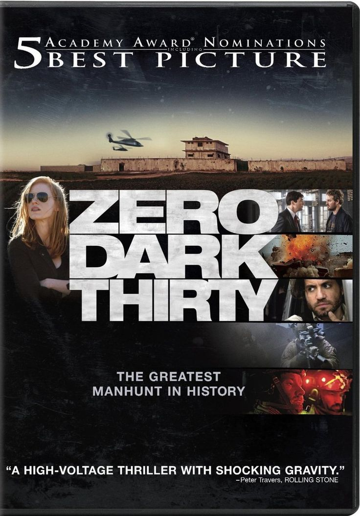 12 'Zero Dark Thirty' vertelt het verhaal van een Amerikaanse legersoldaat uit het Midden-Oosten die terugkeert naar huis. Hij was samen met zijn team Seal Team Six op een missie om de terroristenleider Osama Bin Laden op te sporen en te executeren. Maar na zijn thuiskomst krijgt zijn klein stadje te maken met vreemde, gewelddadige gebeurtenissen.