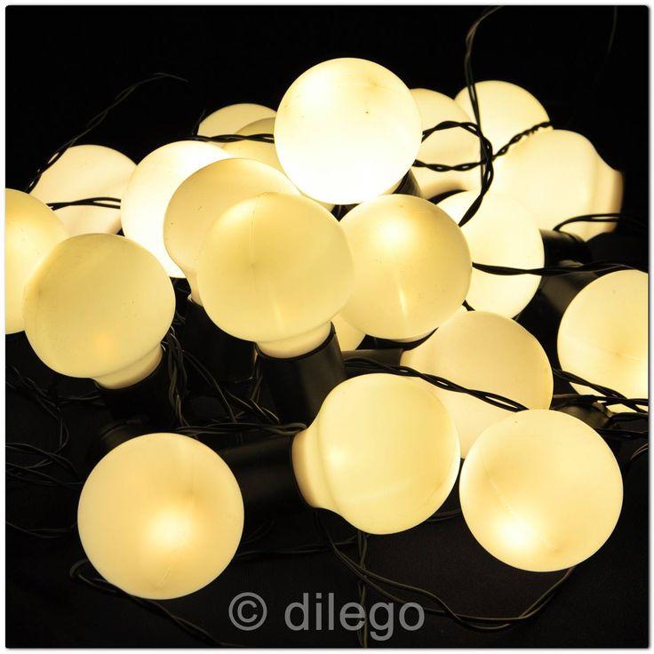 Ideal er LED Lichterkette Partybeleuchtung warm wei Party Beleuchtung au en Trafo