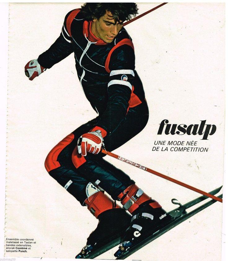Publicité Advertising 1977 8 Pages LES Vetements DE SKI Fusalp | eBay