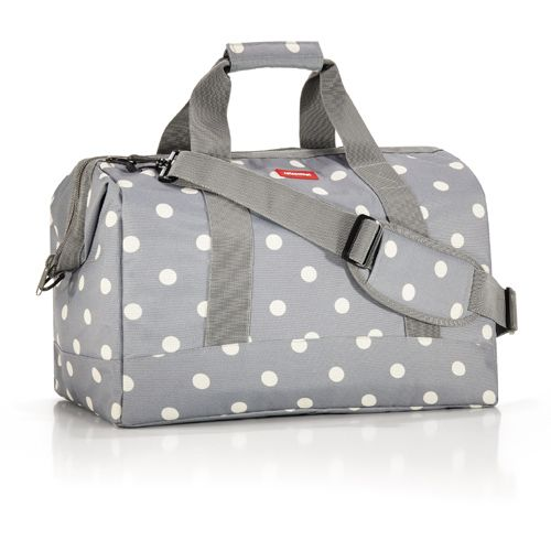 I love this bag for just overnight travel or something like that.: Grey Dots, Summer Travel, Products, Handbag Totes, Bags
