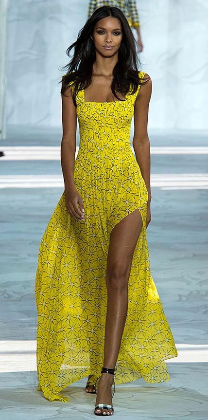 Diane von Furstenberg Runway Looks We Love: New York Fashion Week - Spring/Summer 2015 from #InStyle