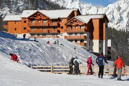 Ski pas cher à la Résidence Les Gentianes