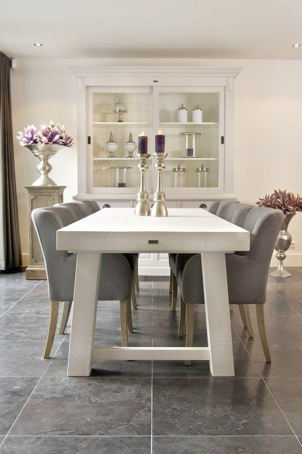 Meer dan 1000 idee n over eettafel decoraties op pinterest eettafels kleine eetkamer en decoratie - Eetkamer interieur decoratie ...