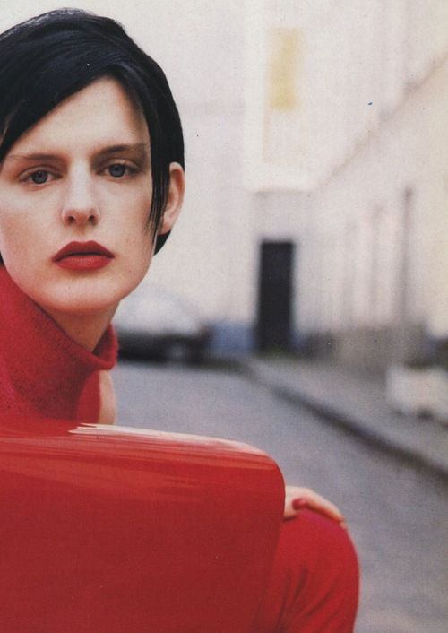 Stella Tennant by Walter Chin for Vogue Italia August 1995