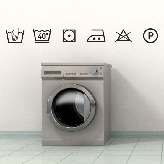 les 25 meilleures id es de la cat gorie symbole lavage sur pinterest symbole lessive laver. Black Bedroom Furniture Sets. Home Design Ideas
