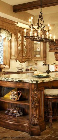 Find This Pin And More On Mediterranean Decor Old World Kitchen