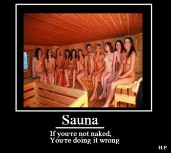 Irreverent history and description of the #sauna and sauna culture: Finnish sauna - Uncyclopedia, the content-free encyclopedia