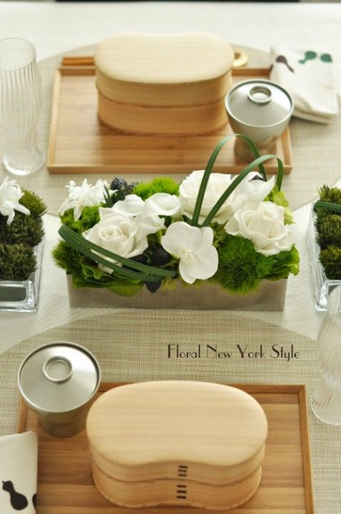 Table Decorations / Table Settingsおもてなしのテーブル♡|フローラルニューヨーク・大塚智香子のスタイルのある暮らし|25ansオンライン