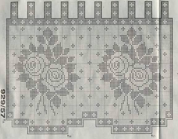 Mejores 1798 im genes de cortinas crochet ll en pinterest cortinas de ganchillo ganchillo y - Cortinas a ganchillo patrones ...