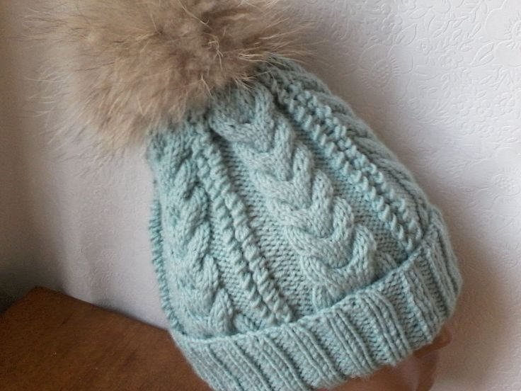 Вязание шапки  на 5(пяти)  спицах,
