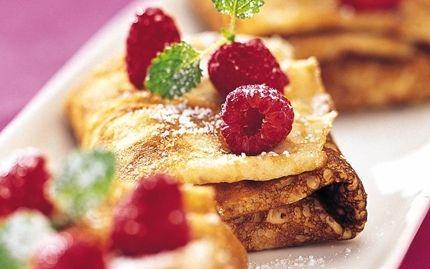 Pannkaka | Här är grundreceptet på en återkommande vardagsfavorit. Variera genom att servera olika tillbehör till pannkakorna.
