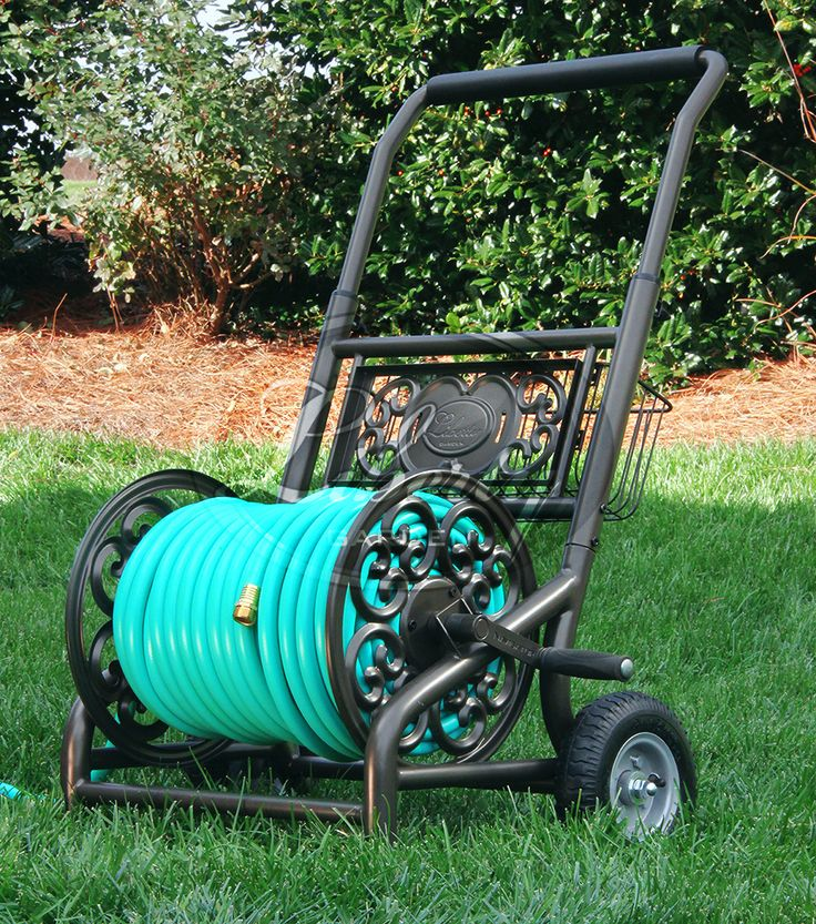 Garden Hose Solutions: The Liberty Model 301 Hose Cart Offers A Stylish And