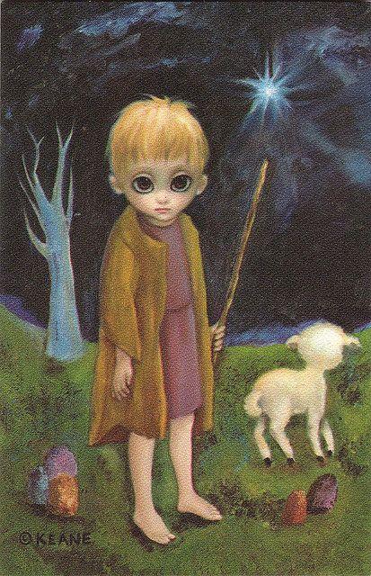 The Shepherd Boy, Walter Keane | Flickr - Photo Sharing!
