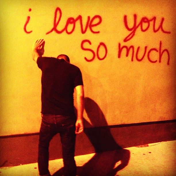 This is from his Instagram page. I really love the composition of the photo.    #ILoveYou #Love #StreetArt #LA #Strombo #Instagram