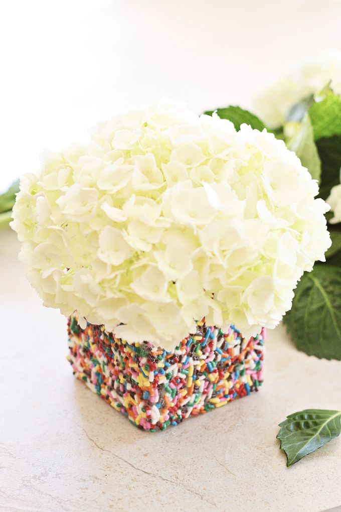 Adorable Sprinkles Votive Holder