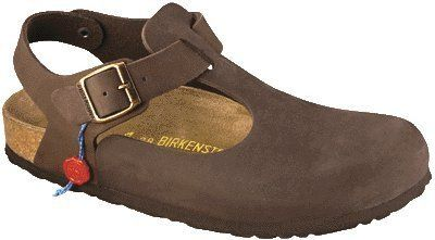 Birkenstock clogs Bonn from Nubuck in Mocha with a regular insole Birkenstock. $81.32