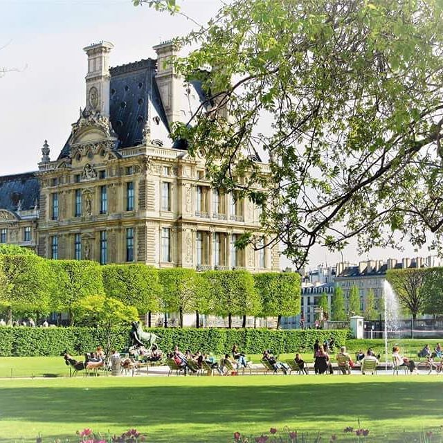 🇫🇷Jardin des Tuileries #paris #france #travel #explore #jardin #gardens #jardindestuileries #spring #april #melbournelifelovetravel