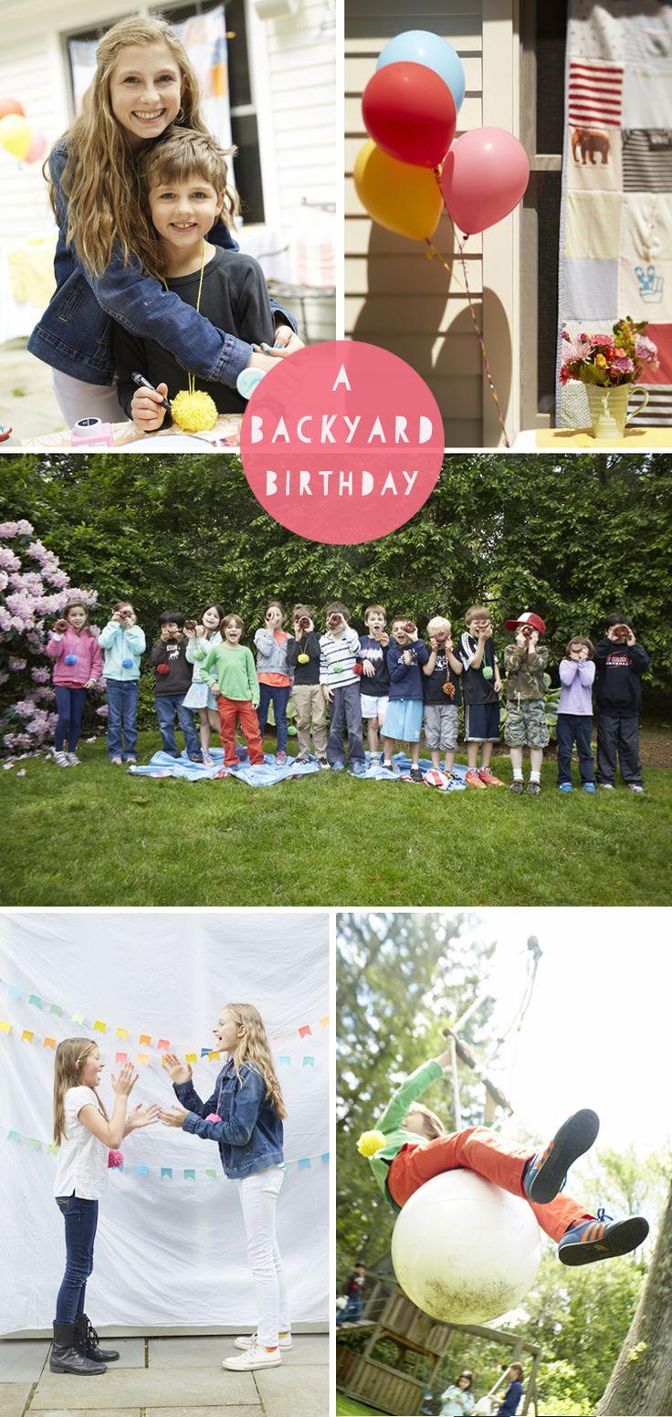 A Backyard Birthday
