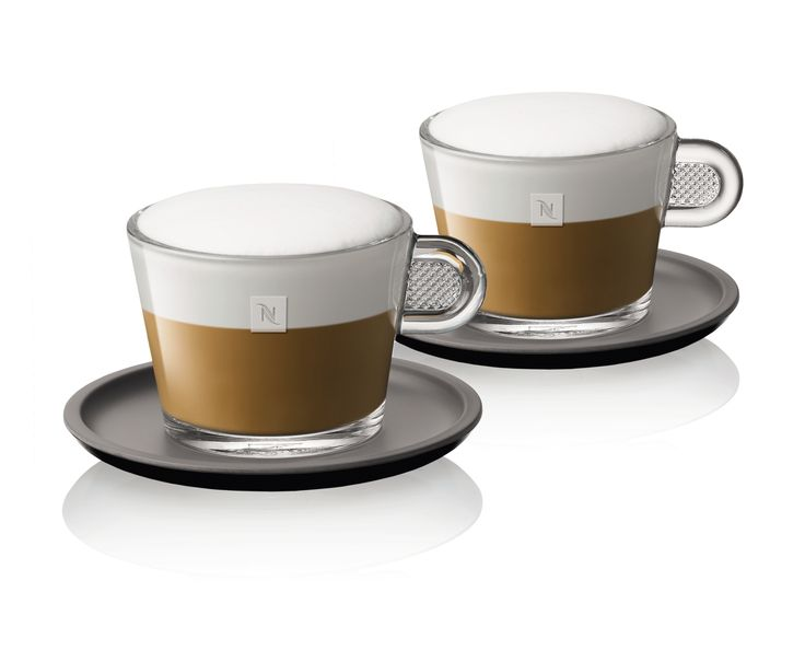 How to make the perfect cappuccino: http://j.mp/1bO8mjh  Featured here: Nespresso Glass Cappuccino Cups and Saucers