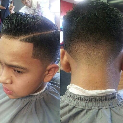 Pompadour Combover #part #taper