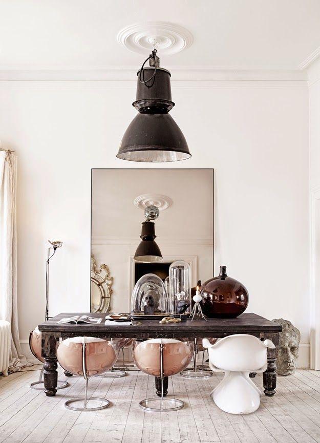 K R i S P I N T E R I O R : Italian villa, a Chateau, or historical Scandi Castle | stylist Marie Olsson Nylander