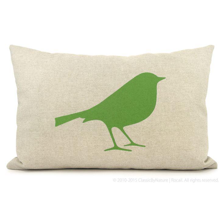 12 x 18 uccelli decorativo cuscino, cuscino di tiro   Cassa del cuscino verde flash, beige e geometriche ogee accento uccello   Arredamento moderno di ClassicByNature su Etsy https://www.etsy.com/it/listing/69928444/12-x-18-uccelli-decorativo-cuscino