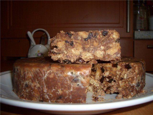 Фото к рецепту: Тортик без выпечки