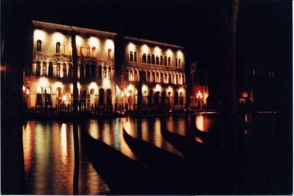 Venecia de noche Marzo 1997 Susana Soto Poblette
