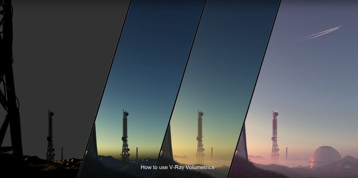 [ #Vray #3dsMax ] Learn how to use V-Ray Volumetrics effects, such as the VRayEnvironmentFog and the VRayAerialPerspective in Part 1 and E...