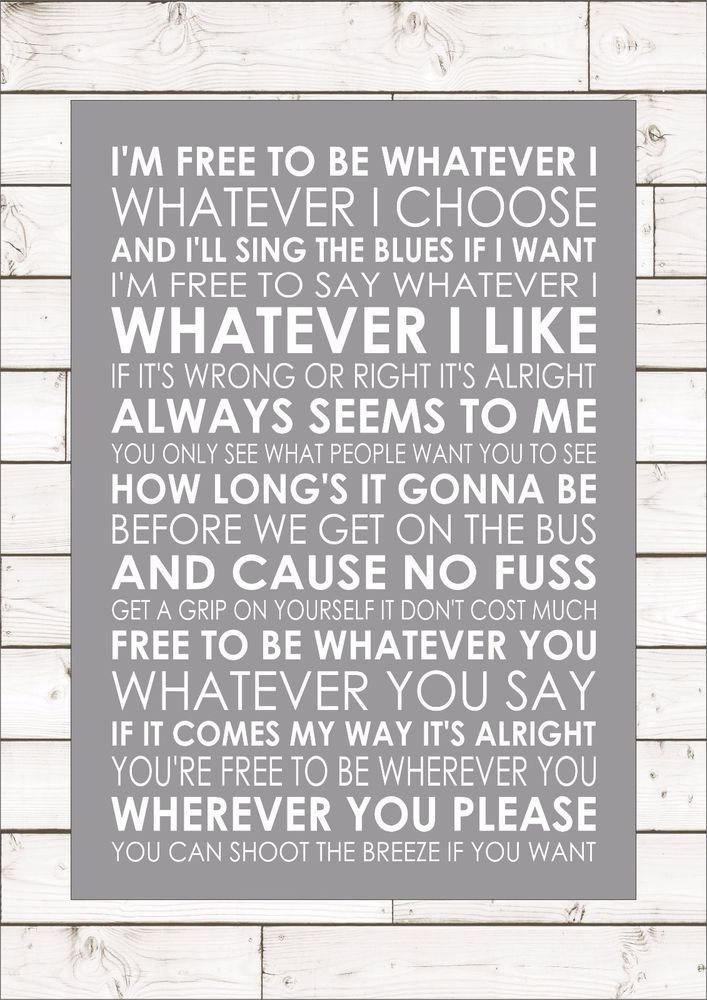 oasis - whatever lyrics - YouTube