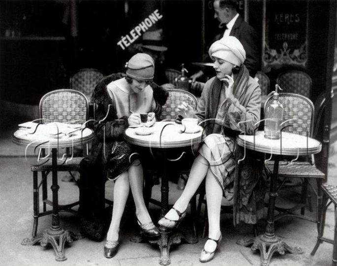Volts-Folies Bergeres Ladies.  Google Image Result for http://thevolts.com/blog/wp-content/uploads/2012/01/Volts-Ladies_on_a_terrasse-Paris-1920s.jpg