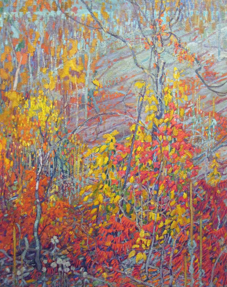 Lismer, Arthur - Sumac et érable - Art Gallery of Ontario, Toronto