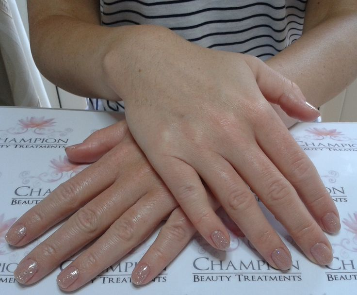 A Dry Manicure Complete With Cnd Shellac Nude Knickers Amp Ice Vapor Nail Polish Nails