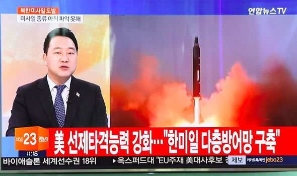 North Korea 'successfully' launches BALLISTIC missile to increase NUCLEAR worries - https://newsexplored.co.uk/north-korea-successfully-launches-ballistic-missile-to-increase-nuclear-worries/
