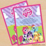 FREE My Little Pony Birthday Party Printables