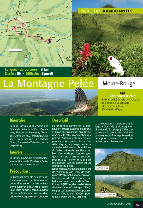 #Martinique #Randonnees La Pelée