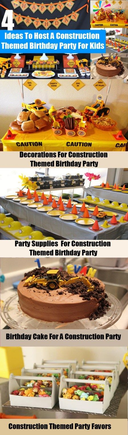 How To Host A Construction Themed Birthday Party For Kids