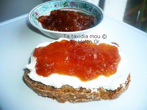Τα ταξίδια μου : Μαρμελάδα Ροδάκινο με Grape Fruit