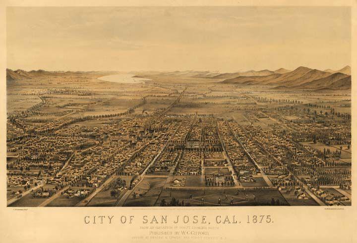 San jose california 1875 - History of San Jose, California - Wikipedia, the free encyclopedia