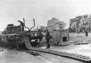 Dieppe - Churchills in Action