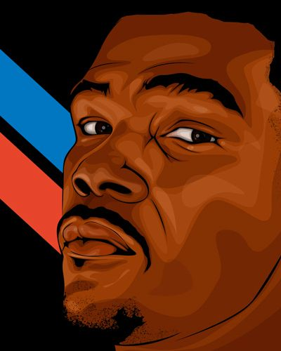 Kevin Durant  Whoever did this has some MAJOR talent - just like the subject!