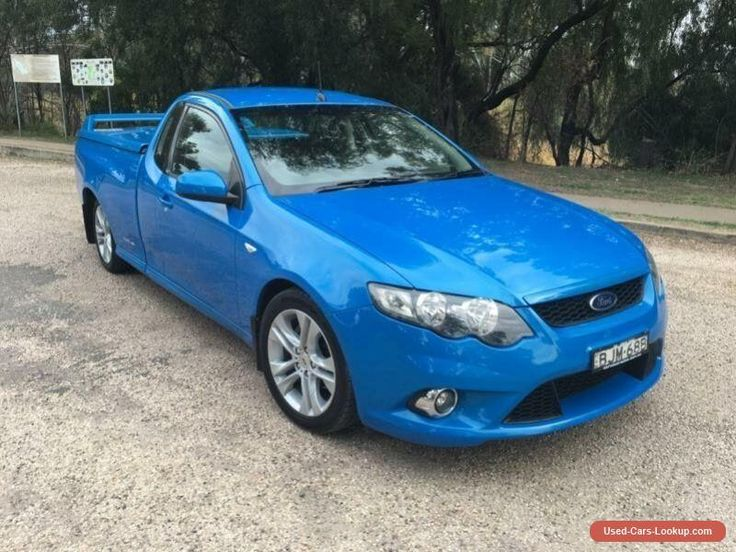 2009 Ford Falcon FG XR6 Blue Automatic 5sp A Utility #ford #falcon #forsale #australia