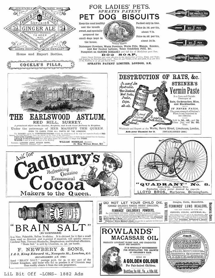 Free Image Friday Fun 1882 ads - Landofnodstudios
