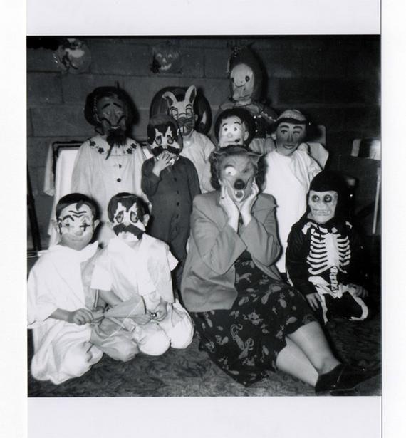 old halloween photos | Vintage Halloween Party Photos