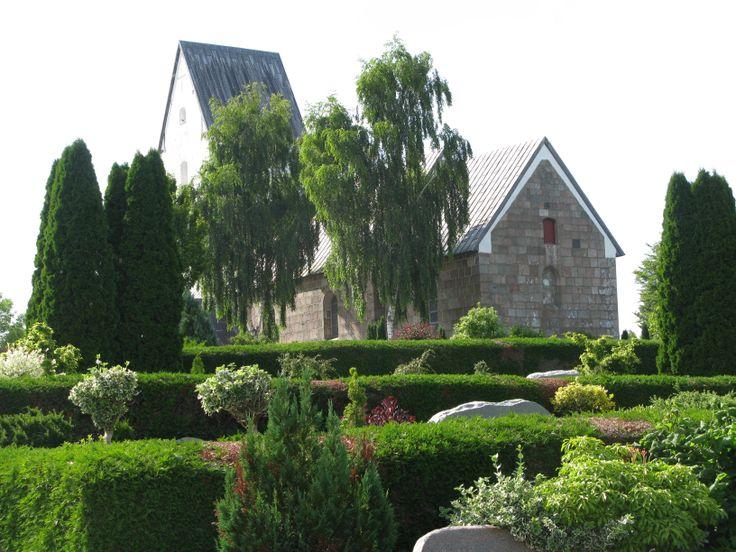 church near Holstebro, Denmark